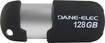 Dane-Elec - 128GB USB 2.0 Flash Drive - Black/Silver