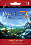 Jagex - RuneScape Prepaid Game Card ($25)