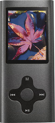 Eclipse - 180 Pro 4GB* Video MP3 Player - Gunmetal