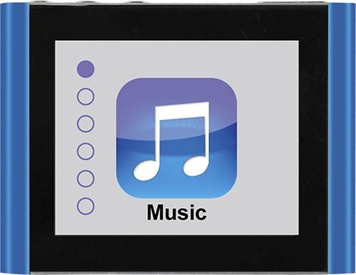 Eclipse - Fit Clip Plus 8GB* MP3 Player - Blue