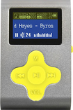 Mach Speed - Eclipse 4GB* MP3 Player - Silver/Yellow