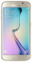 Samsung - Galaxy S6 edge 4G with 64GB Memory Cell Phone (Unlocked) - Gold