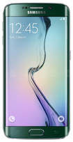 Samsung - Galaxy S6 edge 4G with 32GB Memory Cell Phone (Unlocked) - Green