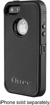 OtterBox - Defender Series Case for Apple iPhone 5 - Black