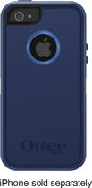 OtterBox - Defender Series Case for Apple® iPhone® 5 - Night Sky Blue