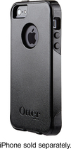 OtterBox - Commuter Series Case for Apple® iPhone® 5 and 5s - Black