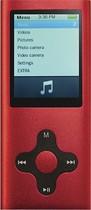 Mach Speed - Eclipse 4GB* MP3 Player - Red