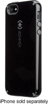 Speck - CandyShell Hard Shell Case for Apple® iPhone® 5 and 5s - Black/Slate