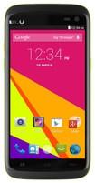 Blu - Sport 4.5 4G with 4GB Memory Cell Phone (Unlocked) - Black/Green