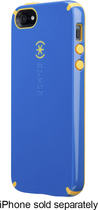 Speck - CandyShell Hard Shell Case for Apple® iPhone® 5 and 5s - Blue/Orange