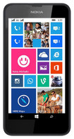 Nokia - Lumia 635 4G with 8GB Memory Cell Phone (Unlocked) - Black