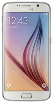 Samsung - Galaxy S6 4G with 64GB Memory Cell Phone (Unlocked) - White