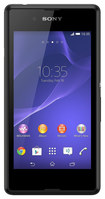 Sony - Xperia E3 4G with 4GB Memory Cell Phone (Unlocked) - Black