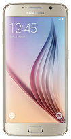 Samsung - Galaxy S6 4G with 64GB Memory Cell Phone (Unlocked) - Gold