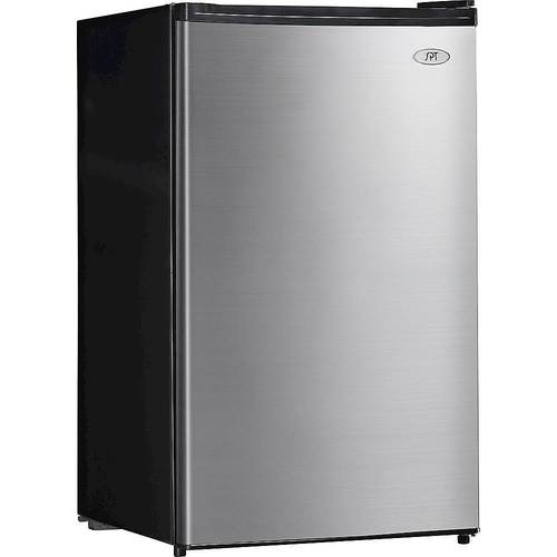 SPT - 4.4 Cu. Ft. Compact Refrigerator - Stainless Steel (Silver)