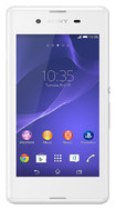 Sony - Xperia E3 4G with 4GB Memory Cell Phone (Unlocked) - White