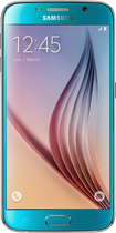 Samsung - Galaxy S6 4G with 32GB Memory Cell Phone (Unlocked) - Blue