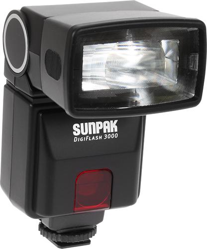 Sunpak - Digiflash 3000 External Flash - Black