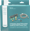 Smart Choice - Dishwasher Water Line and Power Cord Kit