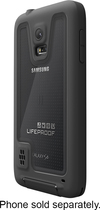 LifeProof - frē Case for Samsung Galaxy S 5 Cell Phones - Black