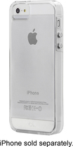 Case-Mate - Naked Tough Case for Apple® iPhone® 5 and 5s - Clear