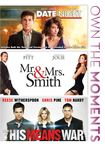 Date Night/mr. & Mrs. Smith/this Means War [3 Discs] (dvd) 6685125