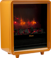 Crane - Fireplace Electric Heater - Orange