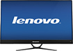 "Lenovo - 27"" Widescreen Flat-Panel IPS LED HD Monitor - Black"