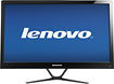 "Lenovo - 23"" Widescreen Flat-Panel IPS LED HD Monitor - Black"