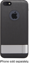 Moshi - iGlaze Kameleon Case for Apple® iPhone® 5 and 5s - Black
