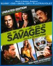 Savages [unrated] [2 Discs] [includes Digital Copy] [ultraviolet] [blu-ray/dvd] 6697142