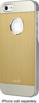 Moshi - iGlaze Armour Case for Apple® iPhone® 5 and 5s - Bronze