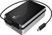 WD - My Passport Pro 4TB External Thunderbolt Portable Hard Drive - Black/Silver