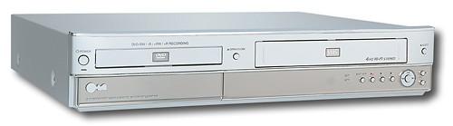 LG Electronics Progressive-Scan Multiformat DVD-R/-RW/+R/+RW Recorder/ VCR 6698709