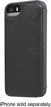 ADOPTED - Folio Case for Apple® iPhone® 5 and 5s - Black