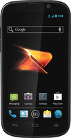 Boost Mobile - ZTE Warp Sequent No-Contract Cell Phone - Black