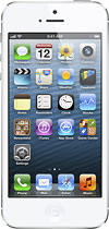 Apple® - iPhone® 5 with 32GB Memory Mobile Phone - White & Silver (Verizon Wireless)