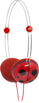 iFrogz - Animatone Over-the-Ear Ladybug Headphones - Red