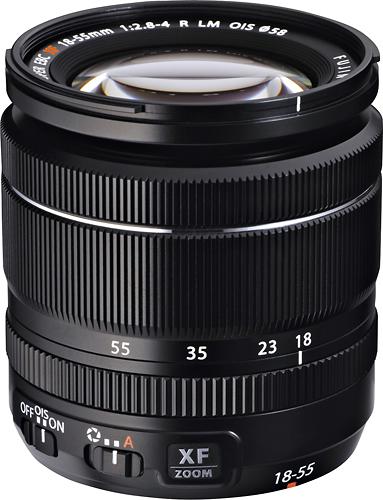 Fujifilm - FUJINON XF 18-55mm f/2.8-4 OIS Zoom Lens for Fujifilm X-Mount System Cameras - Black
