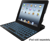 ZAGGkeys - PROplus Bluetooth Keyboard for Select Apple® iPad® Models - Clear