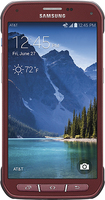 Samsung - Galaxy S 5 Active 4G Cell Phone - Ruby Red (AT&T)