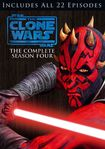 Star Wars: The Clone Wars - The Complete Season Four [4 Discs] (dvd) 6750478