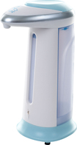 Trademark Home - 13-1/2-Oz. Automatic Soap Dispenser - White