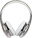 Monster - Diamond Tears Edge On-Ear Headphones - Crystal
