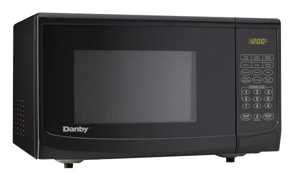Danby - 0.7 Cu. Ft. Compact Microwave - Black