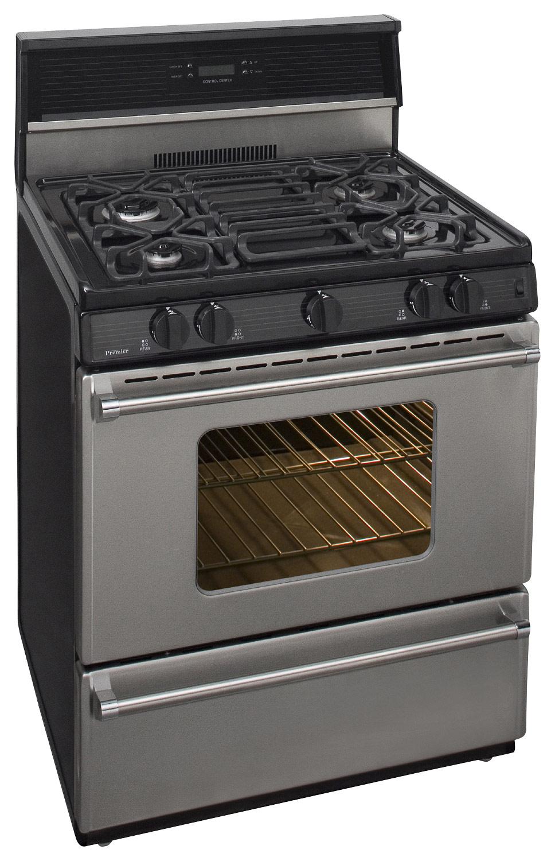 "Premier - Pro Series 30"" Freestanding Gas Range - Stainless-Steel"