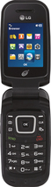 TRACFONE - LG 440G No-Contract Cell Phone - Black