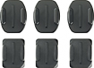 GoPro - Flat and Curved Adhesive Mounts (6-Count)