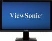 "ViewSonic - 23"" Widescreen Flat-Panel LED HD Monitor - Black"