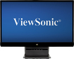 "ViewSonic - 23"" Widescreen Flat-Panel IPS LED HD Monitor - Black"